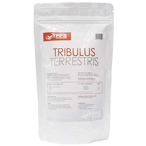 Tribulus 1200 Pro mit 90% Saponine, Zink, Vitamin C 1200mg reines Tribulus pro Kapseln (150Kapseln)