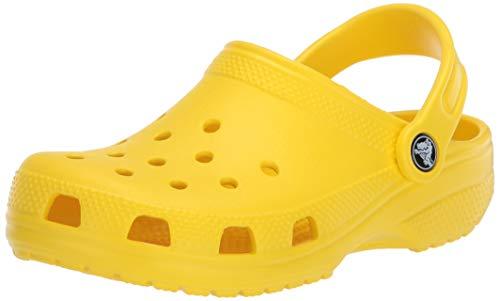 Crocs Classic, Zuecos Unisex Adulto, Amarillo (Lemon), 48/49 EU