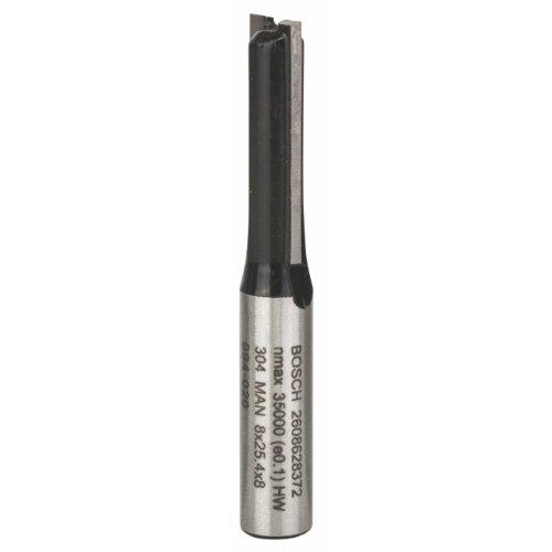 Bosch Professional Nutfräser Standard for Wood (für Holz, Ø 8 mm, Arbeitslänge 25,4 mm, Zubehör Handfräse)