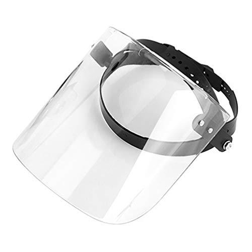 PRETYZOOM 3 Pcs Masque Facial Transparent en Verre Léger Casque Protecteur Plein Visage Masque Facial