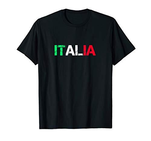 Italien Farben Tshirt Italy Italia Fahne Flagge T-Shirt T-Shirt