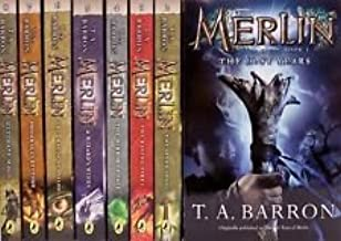 9 books Lost Years of Merlin Set Complete T.A. Barron Merlin Series (The Lost Years of Merlin)
