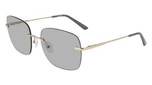 Calvin Klein EYEWEAR CK20103S gafas de sol, BR/ARENA, 5618 para Mujer
