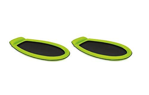 Intex Mesh Mat - Aufblasbarer Wasserhängematte - 178 x 94 cm - Grün doppel Pack