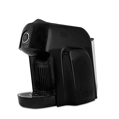 Bialetti Smart Espresso-Kapselmaschine aus Aluminium Schwarz
