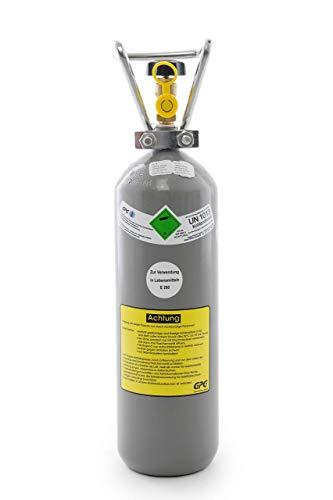 2 kg Kohlensäure Flasche für Aquarium /2 kg CO2 Flasche/Gasflasche gefüllt mit Kohlensäure(CO2) / Lebensmittelqualität nach E290 /NEUE Eigentumsflasche/ 10 Jahre TÜV ab Herstelldatum/Globalimport