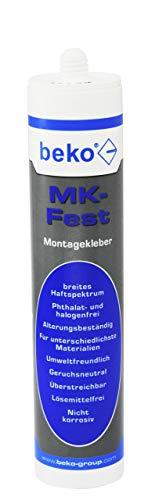 BEKO 241310 MK-Fest Montagekleber 310 ml weiß