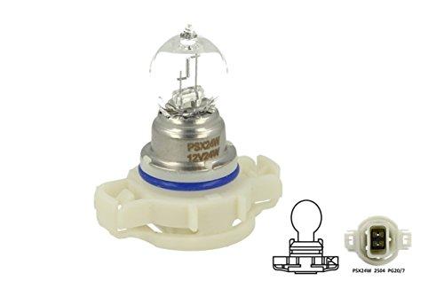Lampada Alogena PSX24W 12V 24W PG20-7 Clear Compatibile Philips 12276 C1