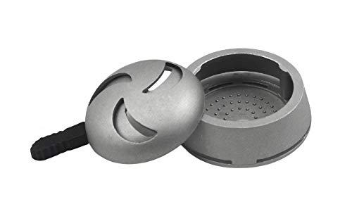 Sm0krz HEATBOX | Shisha-Kopf Aufsatz Smokebox mit Hitzemanagement und Silikongriff zum einfachen Anfassen | Kompatibel mit diversen Köpfen von Wasserpfeifen