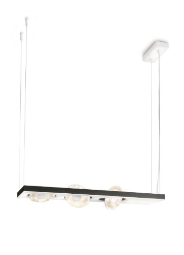 Lirio by Philips Hängeleuchte Light–Suspension Lighting (Aluminium, LED, White, White, warm white, 50/60Hz)