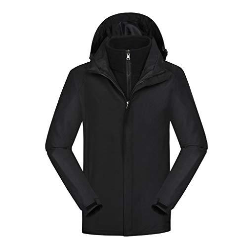 NYGSTORE Men's Waterproof Ski Jacket Warm Winter Snow Coat Mountain Windbreaker Hooded Raincoat