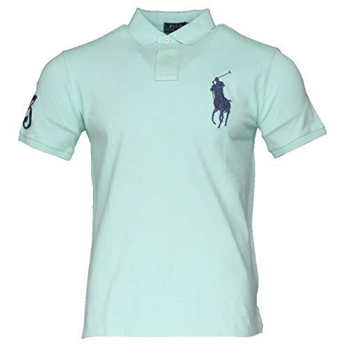 Ralph Lauren Herren Kurzarm Polo - Big Pony - Custom Slim Fit (L)