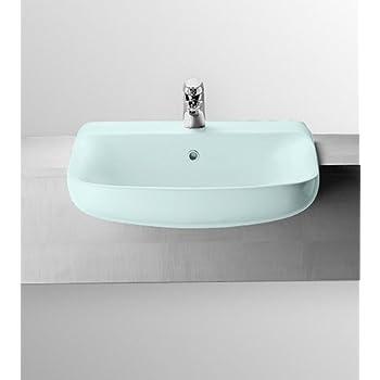 Ideal standard conca art.T0098 colonna per lavabo a parete bianca.