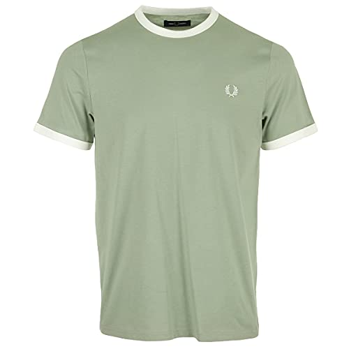 Fred Perry Camiseta 2200-M37 -M37 Hombre Talla: M
