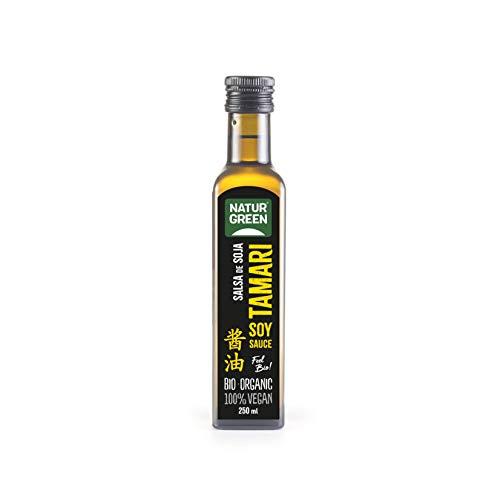 NATURGREEN Salsa de Soja ecológica, 250 ml