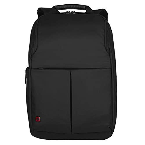 Wenger 601068 RELOAD 14' Laptop Backpack , Padded laptop compartment with iPad/Tablet / eReader Pocket in Black {11 Litres}