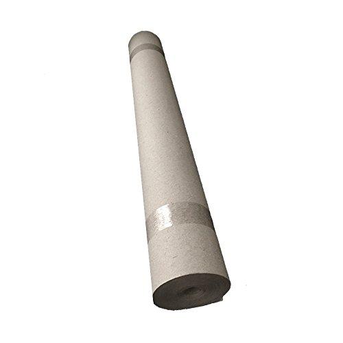 Rohfilzpappe, Abdeckpappe 330g/qm², 1x20 m (20m²), 0,68 mm dick (330)