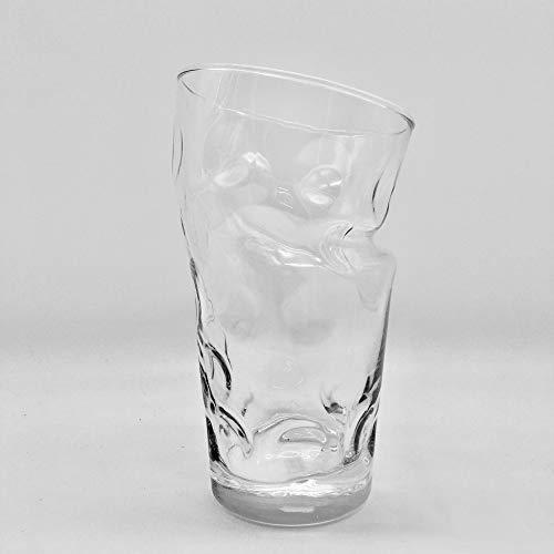 Dubbeglas 0,5 L mit Knick - Pfälzer Knickschobbe Schoppenglas