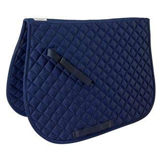 Dover Saddlery Quilted All-Purpose Saddle Pad, Navy