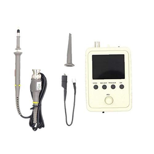 GGOOD Osciloscopio Digital DSO150 Shell Kit BNC con la sonda del osciloscopio portátil de Mano montado Completamente, osciloscopio