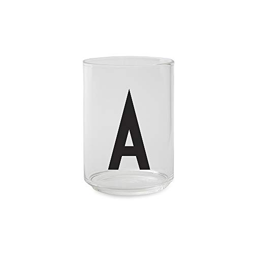 Design Letters - Trinkglas - Glas - A