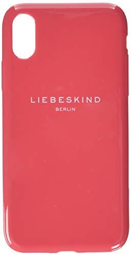 Liebeskind Berlin Damen Mobile Caps Bumper Iphonex Taschenorganizer, Pink (Coral Pink), 1x15x8 cm
