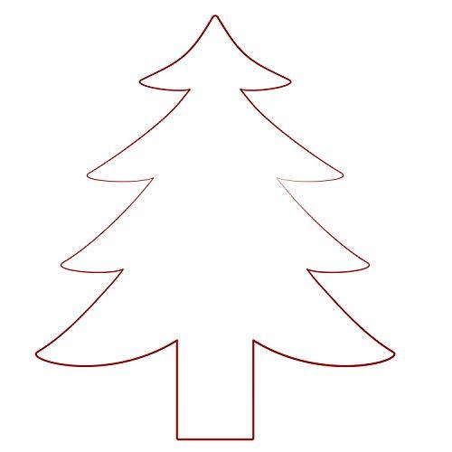 orig. Stemplino® Maxi Stempel 3XL - Tanne - für Karten, Geschenke & Selbstgemachtes DIY - hochwertiger Holzstempel 115x78 mm r& - Riesenstempel auch schön als Geschenk