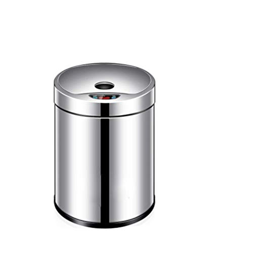 Jixi-Papelera Bote de Basura de inducción automática Hogar Inteligente Baño eléctrico Sala...