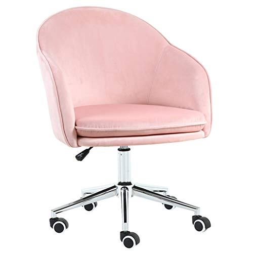 Chaise Ergonomique/Moderne, Tissu Respirant, Coussin en éponge Native, Convient au Salon de la Chambre à Coucher, Bleu, Rose (78 * 62 * 45cm)
