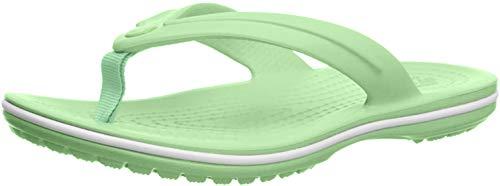 Crocs Unisex-Kinder Crocband Flip GS' Zehentrenner, Grün (Neo Mint), 33/34 EU
