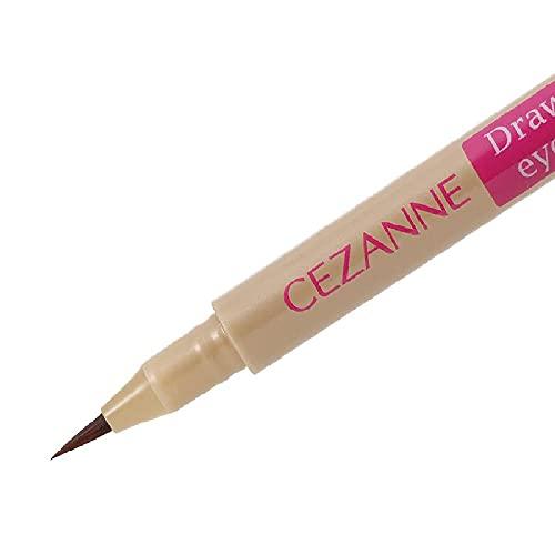 セザンヌ描くふたえアイライナー影用ブラウン0.5mlふたえを強調リキッドアイライナー0.5ミリリットル(x1)