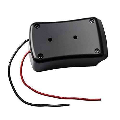 Power Räder Adapter 14.4V-18V Li-Ion-Batterieanschluss mit Drähten kompatibel mit Multifunktionshandwerkzeug mit schwarzem Decker