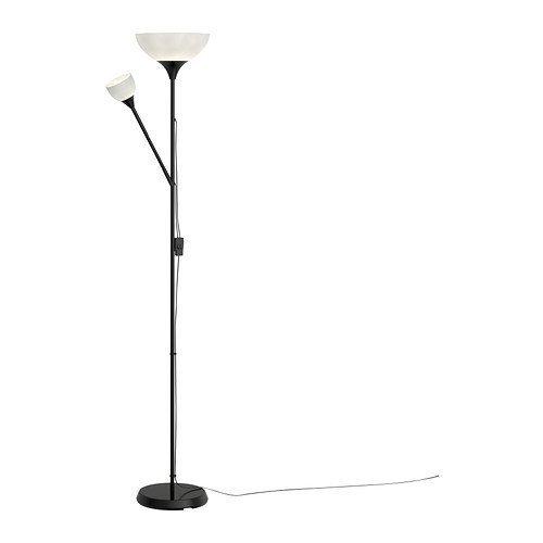 IKEA NOT Lámpara de pie/de lectura, negro, 603.246.76 - 1 unidad