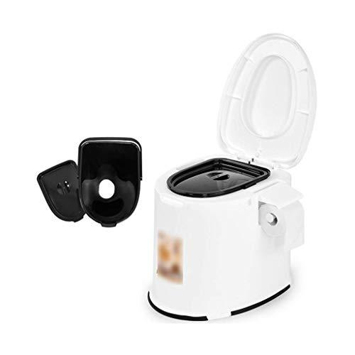 Pratico Comodo WC da Campeggio WC Portatile Padella, WC da Campeggio Mobile, Adatto per emergenze all'aperto, Campeggio e Dormire, Viaggi in Auto (Dimensioni: 1 barilotto Solido) Facile da Usare