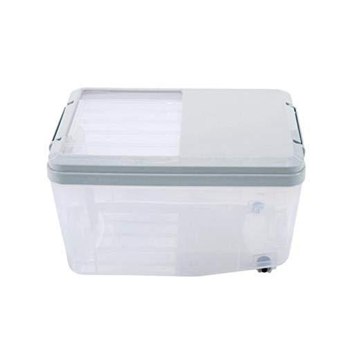 advancethy Vorratsbehälter für Lebensmittel, 5L 10L großer Inhalt, versiegelt, feuchtigkeits- und insektensicherer Kunststoffbehälter mit Deckel - für Tierfutter, Reis, Mehl, Bohnen