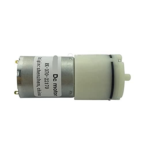 Argerrant 1 stück DIY Micro Luft sauerstoffpumpe Aquarium Ask Tank wasserpumpe dc 6 v Motor Micro Vakuum kleine Mini dusche Booster pumpe Mini 370 Motor (Größe : 6V)