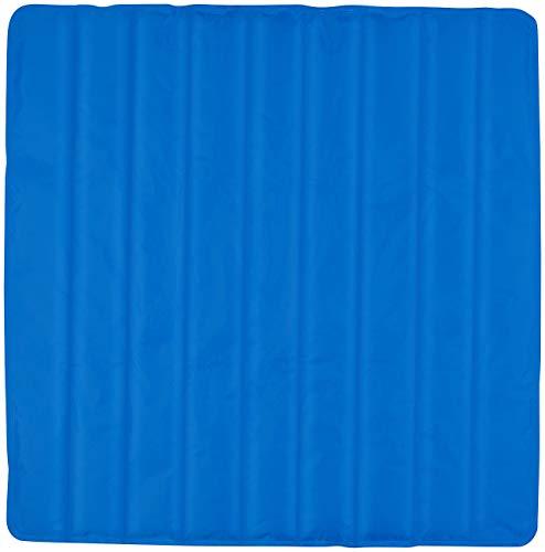Newgen Medicals Kühlmatratze: Kühlende Matratzenauflage, 90 x 90 cm, wiederverwendbar, blau (Kühlende Matratze)