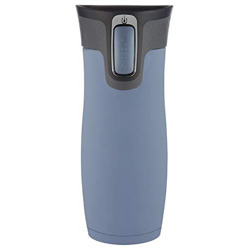 Contigo Unisex– Erwachsene West Loop Trinkflasche, Earl Grey, 470 ml