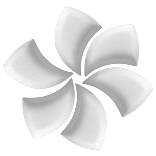 Mode Keramische Huishoudelijke Creatieve Groenteschotel Diepe Schommelplaat TaSet Dim Sum Fruitschaal Servies Keuken Eetkamer, 106