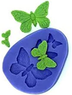 S.Han Fondant Butterfly Silicone Candy Mold Sugarcraft Bakeware Butterfly Flower