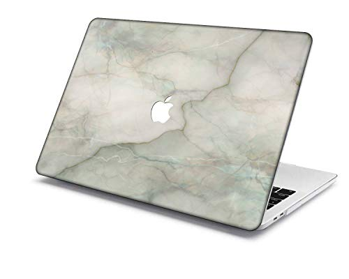 MacBook Pro 15 Case Model:A1707/A1990,QiuHuiCase Plastic Shell Cover Only Compatible 2018-2016 Release MacBook Pro 15' with Touch Bar Touch ID (Marble 315)