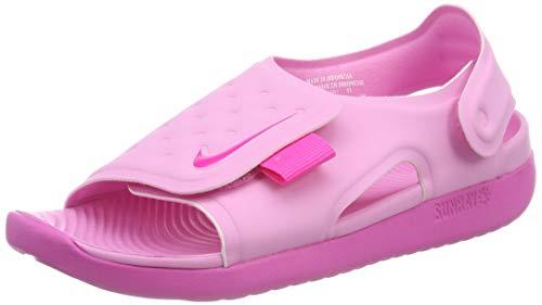 Nike Jungen Sunray Adjust 5 (GS/PS) Dusch-& Badeschuhe, Pink (Psychic Pink/Laser Fuchsia 601), 33 1/2 EU