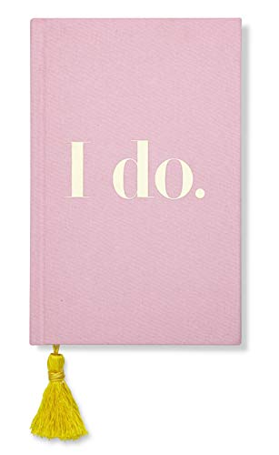 Kate Spade New York Women's Pink Bridal Journal, 8.25' x 5.25' with 200 Pages (I Do)