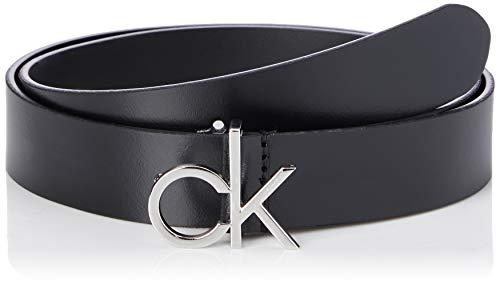 Calvin Klein CK Low Fix Belt 3.0 Set di Accessori Invernali, Black, 85 Donna