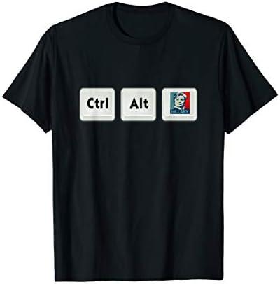 Anti Hillary Control Alt Hillary Clinton T Shirt product image