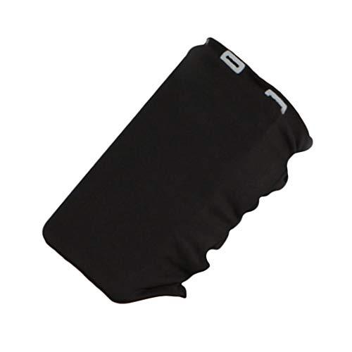 F Fityle Universal Impermeable Deporte Gimnasio para Correr Teléfono Bolsa Bolsa Funda Llavero - Negro, El 12x18cm