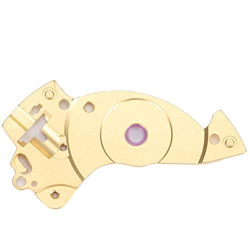 FOLOSAFENAR Férula de aleación Duradera para Movimiento de Reloj Férula de Tira Ligera para Movimiento 2824 Caja Fuerte, para Movimiento 2824(Golden)