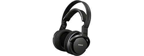 Sony MDR-RF855RK - Cuffie TV wireless over-ear, Base di ricarica, Portata 100 metri, Batteria fino a 18 ore, Nero