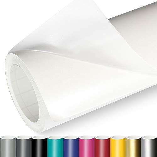 Actinium® Klebefolie 6€/m² Transparent Matt | 5m x 0,63m selbstklebende Schutz Folie | Möbelfolie selbstklebend Wandschutzfolie transparente Plotterfolie