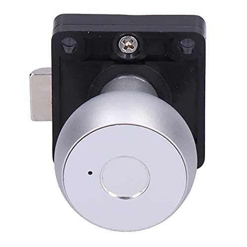 Cerradura Eléctrica, Cerradura De Huella Dactilar Fácil De Desbloquear Para Puerta Doble Para Puerta De Armario